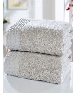 Retreat 2 Piece Towel Bale Silver