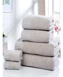 Retreat 6 Piece Towel Bale Silver