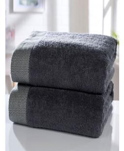 Tidal 2 Piece Towel Bale Charcoal