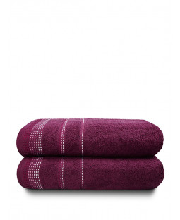Berkley 2 Piece Towel Bale Mulberry