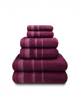 Berkley 6 Piece Towel Bale Mulberry