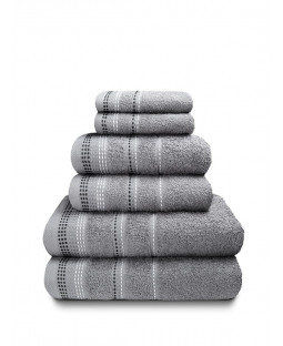 Berkley 6 Piece Towel Bale Silver