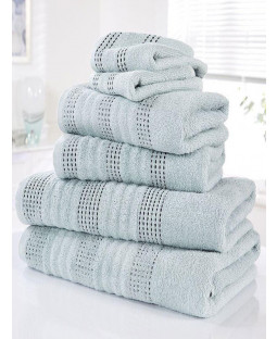 Spa 6 Piece Towel Bale Duck Egg