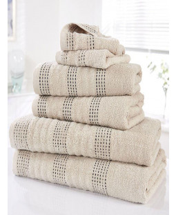Spa 6 Piece Towel Bale Taupe