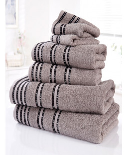 Sirocco 6 Piece Towel Bale Charcoal