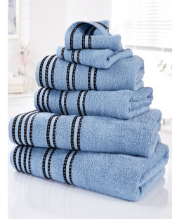Sirocco 6 Piece Towel Bale Denim