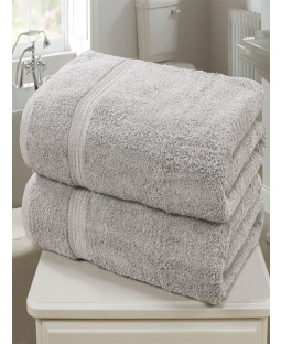 Royal Kensington 2 Piece Towel Bale Silver