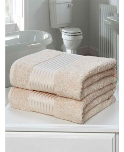 Windsor 2 Piece Towel Bale Biscuit