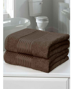 Windsor 2 Piece Towel Bale Chocolate