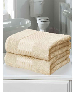 Windsor 2 Piece Towel Bale Cream