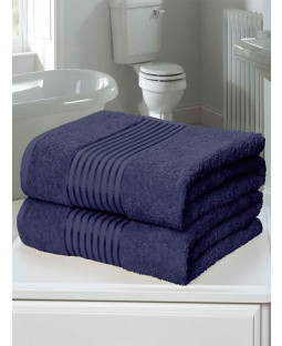 Windsor 2 Piece Towel Bale Denim