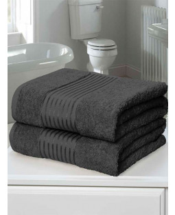 Windsor 2 Piece Towel Bale Grey