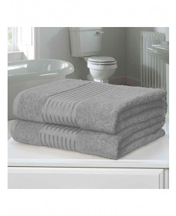 Windsor 2 Piece Towel Bale Silver