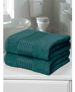 Windsor 2 Piece Towel Bale Teal