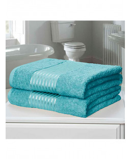 Windsor 2 Piece Towel Bale Turquoise
