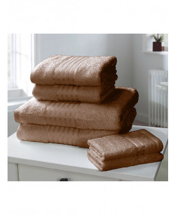 Windsor 6 Piece Towel Bale Chocolate