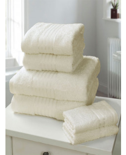 Windsor 6 Piece Towel Bale Cream
