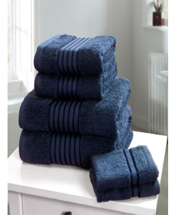 Windsor 6 Piece Towel Bale Denim