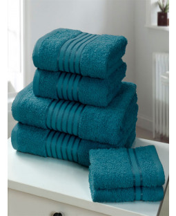 Windsor 6 Piece Towel Bale Teal