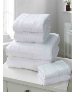 Windsor 6 Piece Towel Bale White