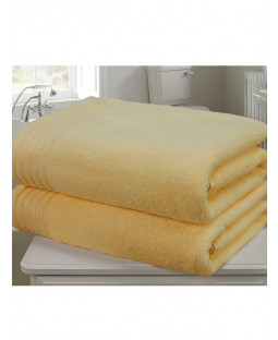 Asciugamano Soale in 2 pezzi Bale Ocra