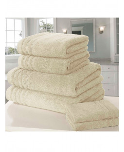 So Soft 6 Piece Towel Bale Cream