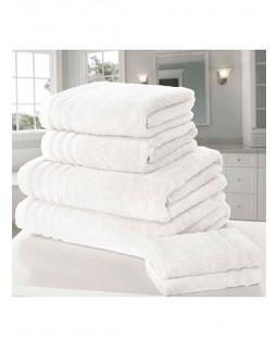 So Soft 6 Piece Towel Bale White