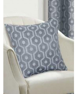Belle Maison Cushion Cover  - Milano Range, Silver