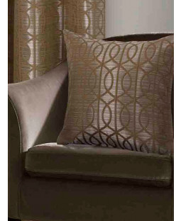 Belle Maison Cushion Cover  - Tuscany Range, Ochre