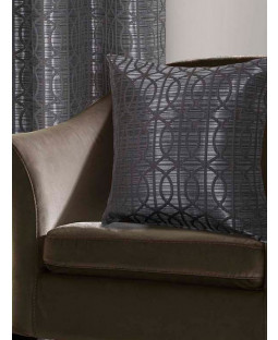 Belle Maison Cushion Cover  - Tuscany Range, Silver
