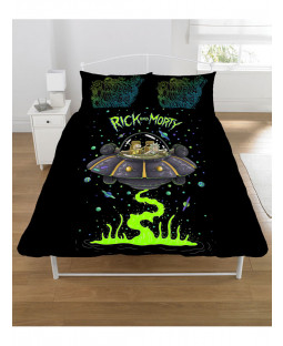 Rick and Morty Double Bedding Set
