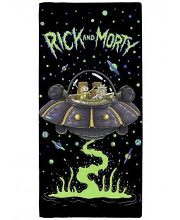 Rick and Morty UFO Towel