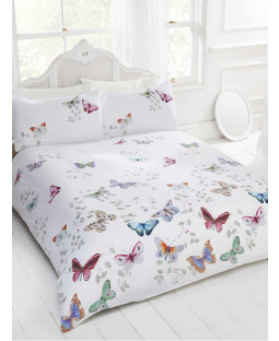 Mariposa Butterfly King Size Duvet Cover and Pillowcase Set