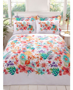 Tropical Single Duvet Cover and Pillowcase Set