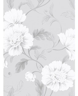 Grey Boutique Floral Wallpaper Rasch 226188