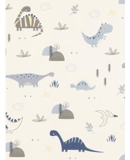 Dinosaurs Wallpaper Natural Rasch 249347