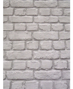 Rasch Dark Grey Brick Effect Wallpaper (226720)
