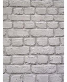 Papel pintado Rasch Dark Gray Brick Effect (226720)