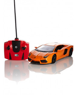 Lamborghini Aventador Orange 1:24 Scale Radio Control Car