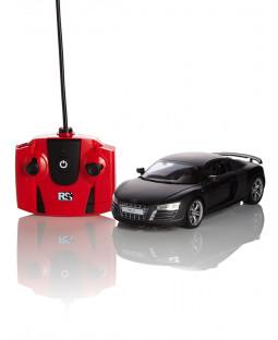 Audi R8 Black 1:24 Scale Radio Control Car