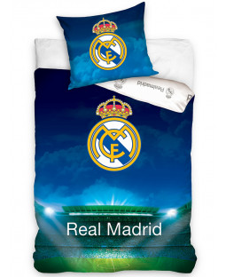 Real Madrid CF Stadium Single Cotton Duvet Cover Set