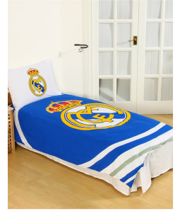 Real Madrid CF Juego de funda de almohada y funda de almohada Single Pulse