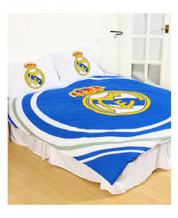 Real Madrid CF Pulse Double Duvet Cover and Pillowcase Set