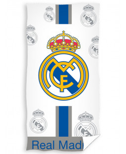 Real Madrid CF White Beach Towel