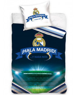 Real Madrid CF Hala Single Cotton Duvet Cover Set