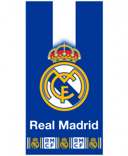 Real Madrid CF Blue Crest Towel