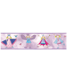 Room Mates Fairy Princess Wallpaper Border