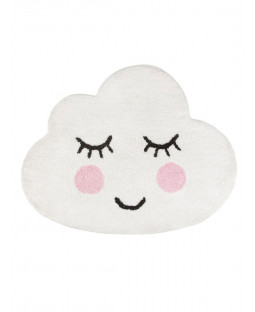 Sweet Dreams Smiling Cloud Floor Rug