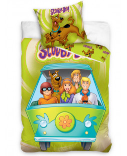 Scooby Doo Single Cotton Duvet Cover Set