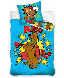 Scooby Doo Blue Single Duvet Cover Set - European Size